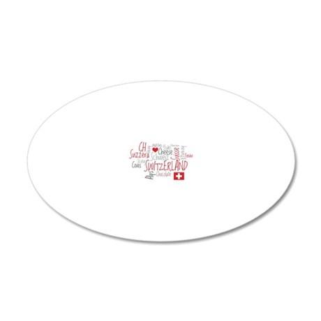 What We Love About Switzerla 20x12 Oval Wall Decal