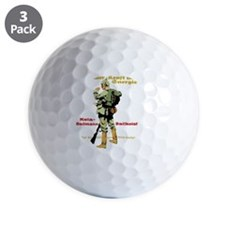 Endurance, Strength & Energy German Golf Ball