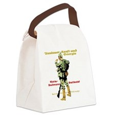 Endurance, Strength & Energy  Canvas Lunch Bag