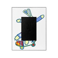 Skate Board Bunny Picture Frame