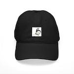 Silver Domestic Flight Black Cap