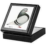 Silver Domestic Flight Keepsake Box