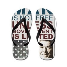 july11_man_not_free Flip Flops