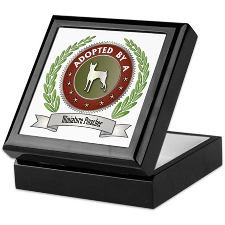 Pinscher Adopted Keepsake Box