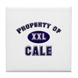 Property of cale Tile Coaster