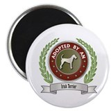 "Terrier Adopted 2.25"" Magnet (10 pack)"