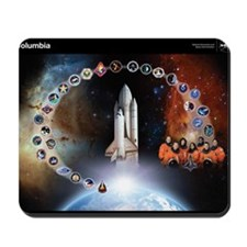L Columbia Tribute Mousepad