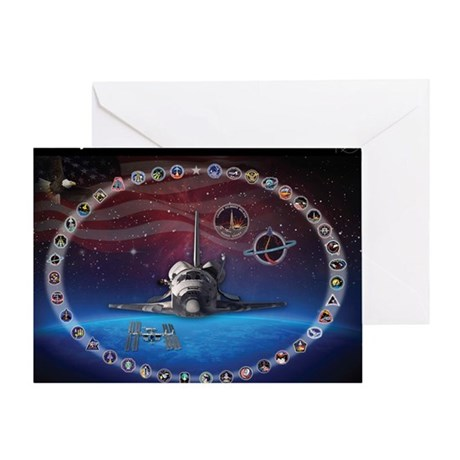L Discovery Tribute Greeting Card