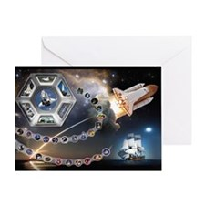 L Endeavour Tribute Greeting Card