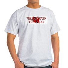 TRINIDAD and TOBAGO Ash Grey T-Shirt