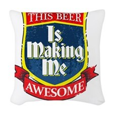 makingmeawesome Woven Throw Pillow