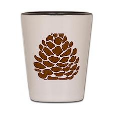 Pine cone Shot Glass
