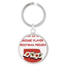 BRIDGE Round Keychain