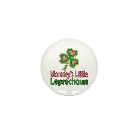 Girl St Patrick's Day Mini Button