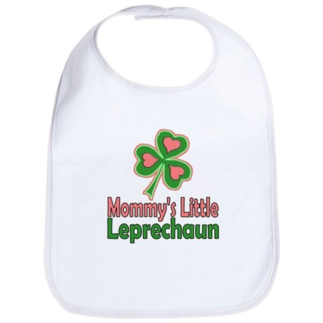 Girl St Patrick's Day Bib