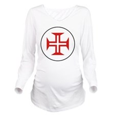 8x10-Portuguese_Air_ Long Sleeve Maternity T-Shirt