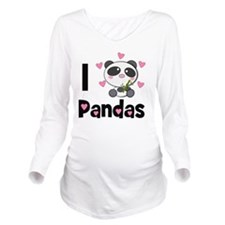 panda-cub2 Long Sleeve Maternity T-Shirt