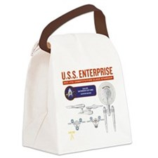 ENTERPRISE SCHEMA Canvas Lunch Bag