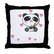 panda-cub3 Throw Pillow