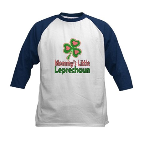 Girl St Patrick's Day Kids Baseball Jersey