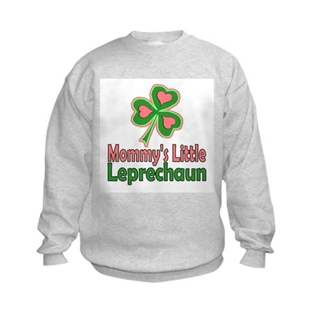 Girl St Patrick's Day Kids Sweatshirt