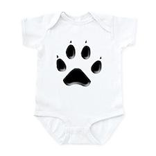 Wolf Track Infant Bodysuit
