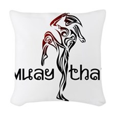 MT_Design_21 Woven Throw Pillow