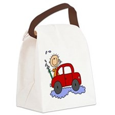 malewashingcar Canvas Lunch Bag