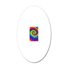 Bright iPad 20x12 Oval Wall Decal