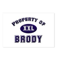 Property of brody Postcards (Package of 8)