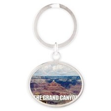 Grand Canyon Oval Keychain