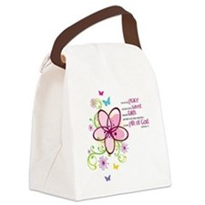 by-grace Canvas Lunch Bag