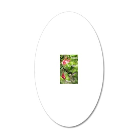 BDHBirdGtgCdSF 20x12 Oval Wall Decal