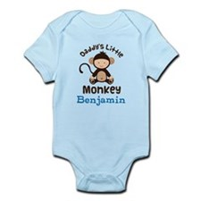 Daddys Little Monkey personalized Body Suit