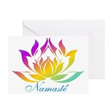 Namaste.gif Greeting Card