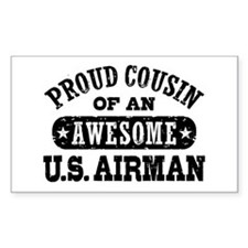 Proud Cousin of an Awesome US Airman Decal
