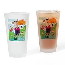 bird and pup-ian Drinking Glass