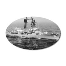 decatur ddg note cards Wall Decal