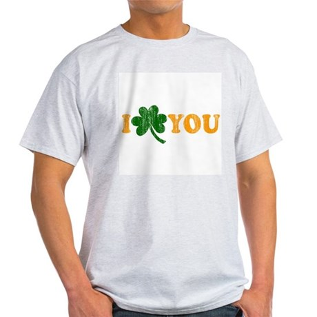 I Shamrock You Ash Grey T-Shirt