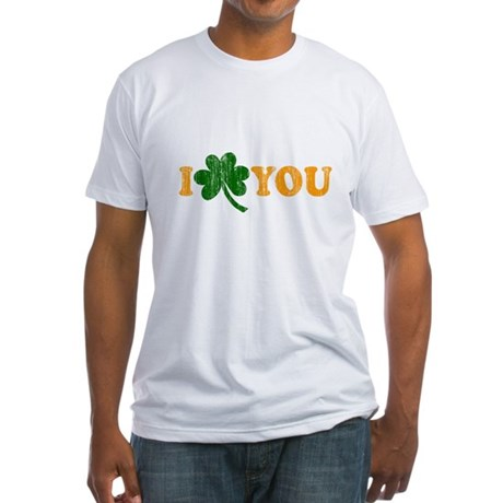 I Shamrock You Fitted T-Shirt