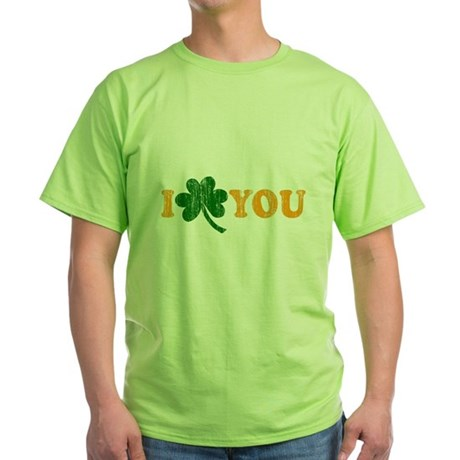 I Shamrock You Green T-Shirt