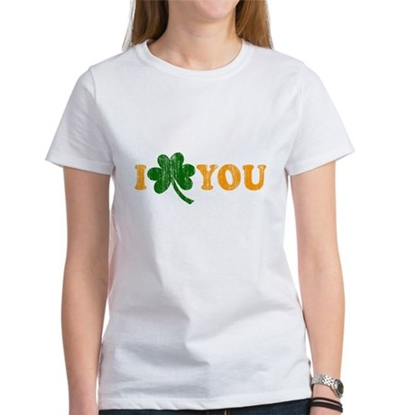 I Shamrock You Womens T-Shirt