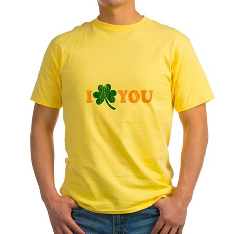 I Shamrock You Yellow T-Shirt