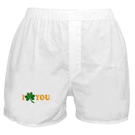 I Shamrock You Boxer Shorts
