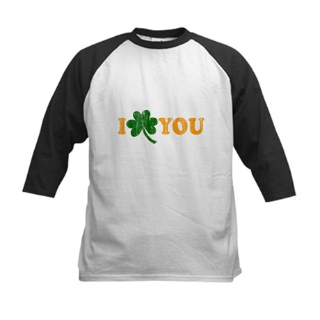 I Shamrock You Kids Baseball Jersey