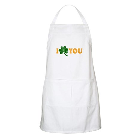 I Shamrock You BBQ Apron