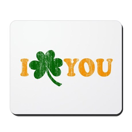 I Shamrock You Mousepad