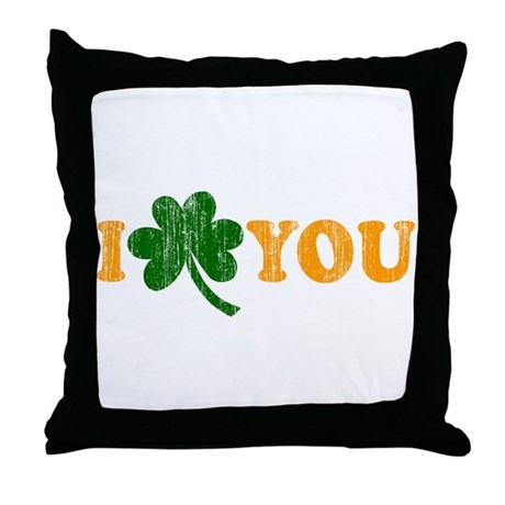 I Shamrock You Throw Pillow