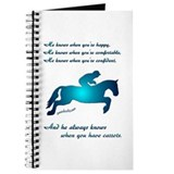 Horses Love Carrots Journal