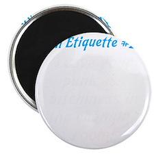 Gym-etiquette-0 Magnet